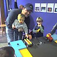 Daddy & my Lego car