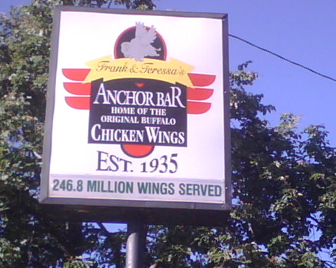 Home of the Buffalo Wing!