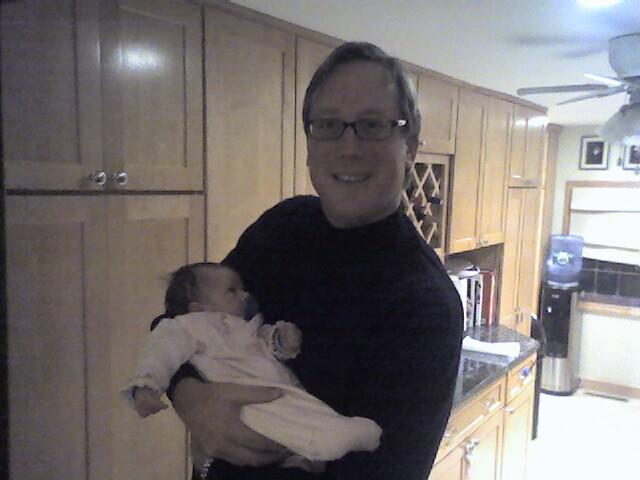 """Lila Summer meets """"Uncle"""" Dan, her LPGA agent"""